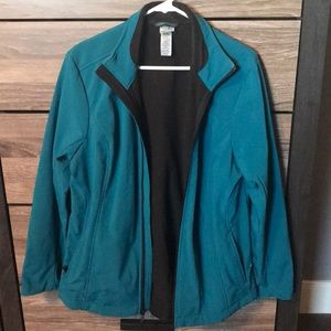 C9 Teal soft shell jacket